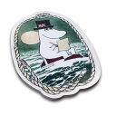 カッティングボード Moomin Papa at Sea カバ材 まな板 Size: 24,5 x 16,5 cm ポット...