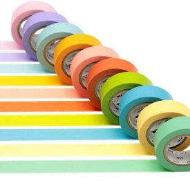 【メール便OK】 無地 マスキングテープ 明るい色 カモ井加工紙 mt ex 10P26Mar1607Nov15 セール
