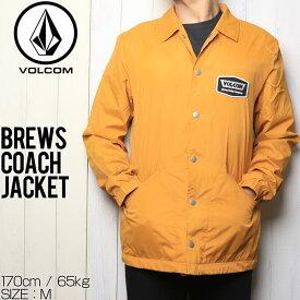 [クリックポスト対応] VOLCOM ボルコム BREWS COACH JACKET コーチジャケット A1531801 CML