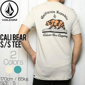 [クリックポスト対応] VOLCOM ボルコム CALI BEAR S/S TEE 半袖Tシャツ A5741809
