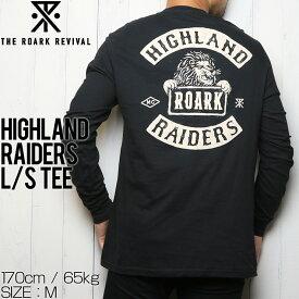 [クリックポスト対応] THE ROARK REVIVAL ロアークリバイバル HIGHLAND RAIDERS L/S TEE ロングスリーブTシャツ RT607