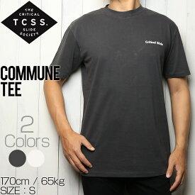 [クリックポスト対応] TCSS ティーシーエスエス COMMUNE TEE 半袖Tシャツ TE18126