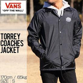[クリックポスト対応] VANS ヴァンズ TORREY COACHES JACKET コーチジャケット VN0002MUY28