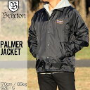 [クリックポスト対応] BRIXTON ブリクストン PALMER JACKET コーチジャケット 03183