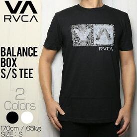 [クリックポスト対応] RVCA ルーカ BALANCE BOX S/S TEE 半袖Tシャツ M401TRBA
