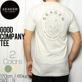 [クリックポスト対応] SEAGER シーガー GOOD COMPANY TEE 半袖Tシャツ
