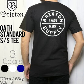 [クリックポスト対応] BRIXTON ブリクストン OATH S/S STANDARD TEE 半袖Tシャツ 06281