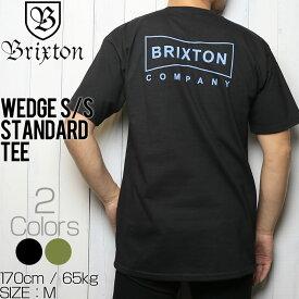 [クリックポスト対応] BRIXTON ブリクストン WEDGE S/S STANDARD TEE 半袖Tシャツ 06865