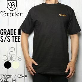 [クリックポスト対応] BRIXTON ブリクストン GRADE III S/S TEE 半袖Tシャツ 16061