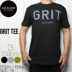 [クリックポスト対応] SEAGER シーガー GRIT TEE 半袖Tシャツ