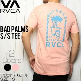 [クリックポスト対応] RVCA ルーカ BAD PALMS S/S TEE ポケット付き半袖Tシャツ M412URBA