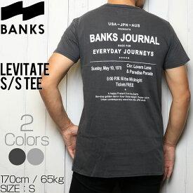 [クリックポスト対応] BANKS バンクス LEVITATE S/S TEE 半袖Tシャツ WTS0284