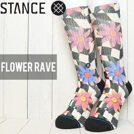 [クリックポスト対応] STANCE スタンス FLOWER RAVE SOCKS ソックス 靴下 M558C19FLR