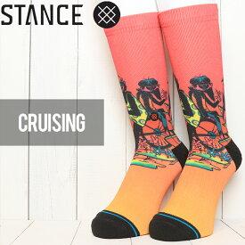 [クリックポスト対応] STANCE スタンス CRUISING SOCKS ソックス 靴下 M558C19CRU