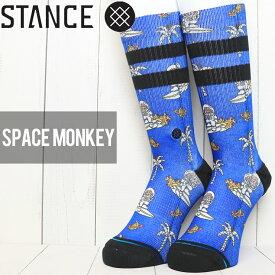 [クリックポスト対応] STANCE スタンス SPACE MONKEY SOCKS ソックス 靴下 M558C19SPM