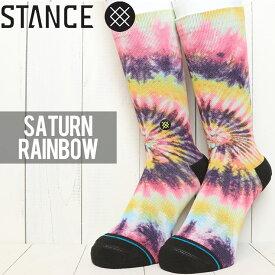 [クリックポスト対応] STANCE スタンス SATURN RAINBOW SOCKS ソックス 靴下 M558C19SAR