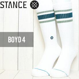 [クリックポスト対応] STANCE スタンス BOYD 4 SOCKS ソックス 靴下 M556A18BOY GRN