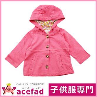 卡特Carter's Parker長袖子外衣嬰兒裝女人的孩子粉紅9m 12m 18m 24m 3T瑕疵