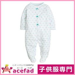 卡特Carters嬰兒裝覆蓋物全部步態長袖子女人的孩子白&綠色3m 6m 9m 12m