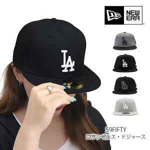 ニューエラ/NEW ERA 59fifty Los Angeles Dodgers ロサンゼルス ドジャース 帽子 キャップ CAP ロゴ メンズ レディース GRAY WHITE 球団CAP メジャーリーグ公式野球帽【あす楽】