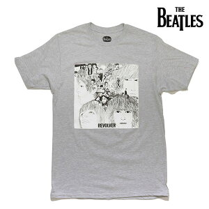 ザ・ビートルズ/The Beatles THE BEATLES REVOLVER TEE GREY リボルバー ロックバンド Tシャツ ロックT バンドT ロゴT 正規品 本物 メンズ レディース【ネコポス発送】