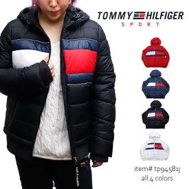 トミーヒルフィガー/TOMMY HILFIGER 中綿ジャケット アウター ナイロン フルジップ レディース TP94581J USA規格【あす楽】【送料無料】