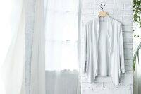 極上シルク100%カーディガンレディースメーカー直販女性用洗濯機で洗える42ゲージ6Aシルク上品なドレープ加工絹長袖羽織り吸湿保湿蒸れにくい肌に優しい天然素材秋冬楽々