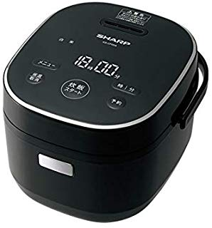 シャープ パン調理機能付 ジャー炊飯器 3合炊き ブラック KS-CF05A-B