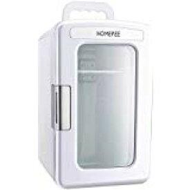 HOMEPEE冷温庫 小型冷蔵庫 家用 車載用ポータブル 1ドア10L AC DC ぺルチェ式 ミニ冷蔵庫 保冷 保温 ポータブル 10リットル 1人暮らし 車 ドライブ アウトドア