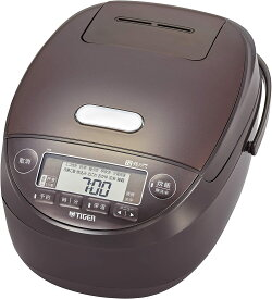 【Go In Eat】タイガー魔法瓶(TIGER) 炊飯器 5.5合 圧力IH 土鍋コーティング 炊きたて ブラウン JPK-B100T