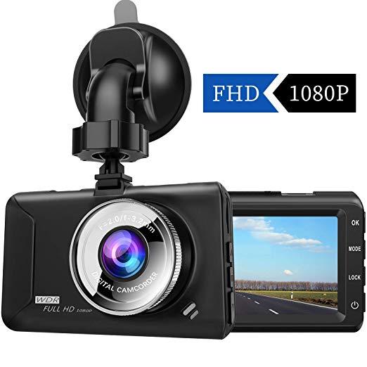 ドライブレコーダー【2019年最新版】chortau 3.0インチ 1080P FULL HD F1.8 170度広角 SONYセンサー/レンズ 常時録画 駐車監視 G-sensor WDR 2年保証