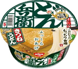 【Go In Eat】日清のどん兵衛 きつねうどん [西] 12個入り