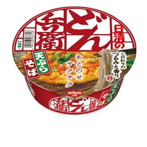 【Go In Eat】日清食品 どん兵衛天ぷらそば(東) 100g×3個