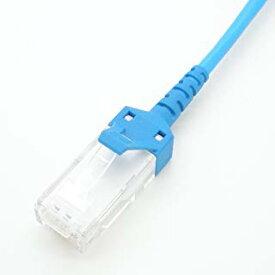 極細径 LAN ケーブル 1m/3m/5m/7m/10m/15m/20m/30m cat5e 対応 撚り線 ストレート結線 568B SS-OKTP-E5-P-AWG28X4P スリム 岡野電線 (5m)