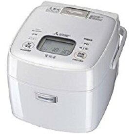 三菱 IHジャー炊飯器(3.5合炊き) ピュアホワイトMITSUBISHI 備長炭 炭炊釜 NJ-SE068-W