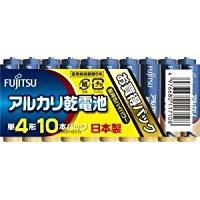 FDK FUJITSU アルカリ単4・10個 LR03D(10S)