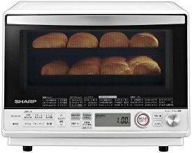 【Go In Eat】シャープ オーブンレンジ 過熱水蒸気 コンベクション 31L 2段調理 ホワイト RE-SS10X-W