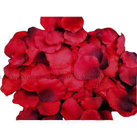 (あす楽) フラワーシャワー 約1000枚   花びら 造花 大量 生花 花 バラ フラワーペタル ローズ 薔薇 パーツ レッド 赤 結婚式 ウエディング ウェディング 前撮り アイテム ウェルカムスペース 飾り フォト グッズ フラワー シャワー コンフェッティ パーティー パーティ 144