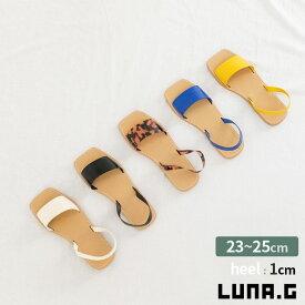 サンダル レディース ぺたんこ 歩きやすい 大きいサイズ 黒 レオパード 夏 フラット 疲れない ヌーディー 大人 バックストラップ リゾート 旅行 ミュール 韓国ファッション