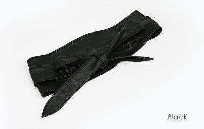 サッシュベルト牛革(本革)belt結びベルト太ベルトロング丈ベルトリボン幅広帯状ベルトレディース韓国ファッションウエストマーク雑貨sashbelt20代30代40代trend