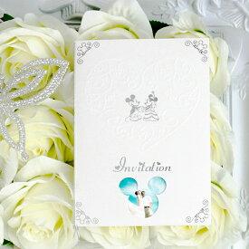 """ディズニー招待状セット """"ハーティ"""" ミッキーマウス ペーパーアイテム【手作り】"""