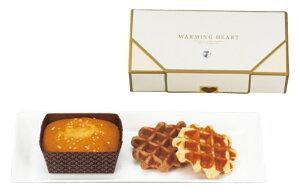 【引き菓子 洋菓子】ウォーミングハート チーズケーキ&ワッフルセット