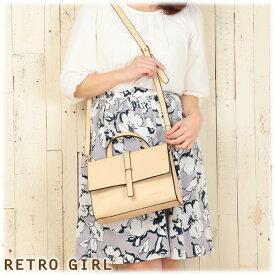 【SALE】レトロガール クレア ショルダーバッグ RGB-1530 RETRO GIRL (natural)セール(2016SS新作 かわいい おしゃれ カラフル ガーリー コンサバ クラッチ パーティー)