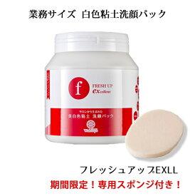 白色粘土洗顔料 フレッシュアップEXLL 1400g