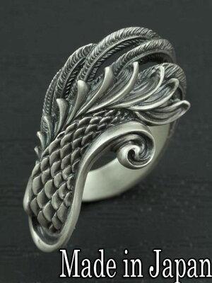 Dual Flow[鳳凰の羽ring] (シルバーアクセサリー/シルバーアクセ/シルバー/シルバー925/Silver925/銀/デュアルフロウ/リング/指輪/...