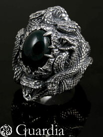 Guardia[Hydra] (シルバーアクセサリー/シルバー925/Silver925/ガルディア/リング/指輪/メンズ/レディース/ユニセックス/天然石/ブラッドストーン/)