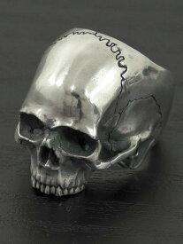 JIN[顎無し頭蓋骨リング](シルバーアクセサリー/シルバー925/Silver925/ジン/SASUKE/サスケ/ピアス/メンズ/ユニセックス/スカル)