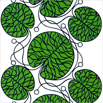 Fabric marimekko Marimekko BOTTNA Botton 10 cm fabric, cloth