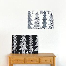 クリスマスファブリックパネル marimekko マリメッコ Kuusikossa クーシコッサ 60×42cm