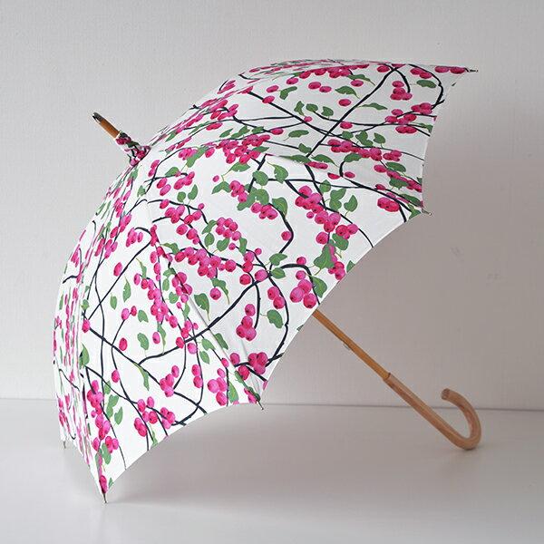 【送料無料】日傘 ARVIDSSONS TEXTIL アルビッドソンズ・テキスタイル Barig バーリ ピンク 晴雨兼用傘 北欧 北欧生地 北欧雑貨 スウェーデンブランド おしゃれ かわいい uvカット